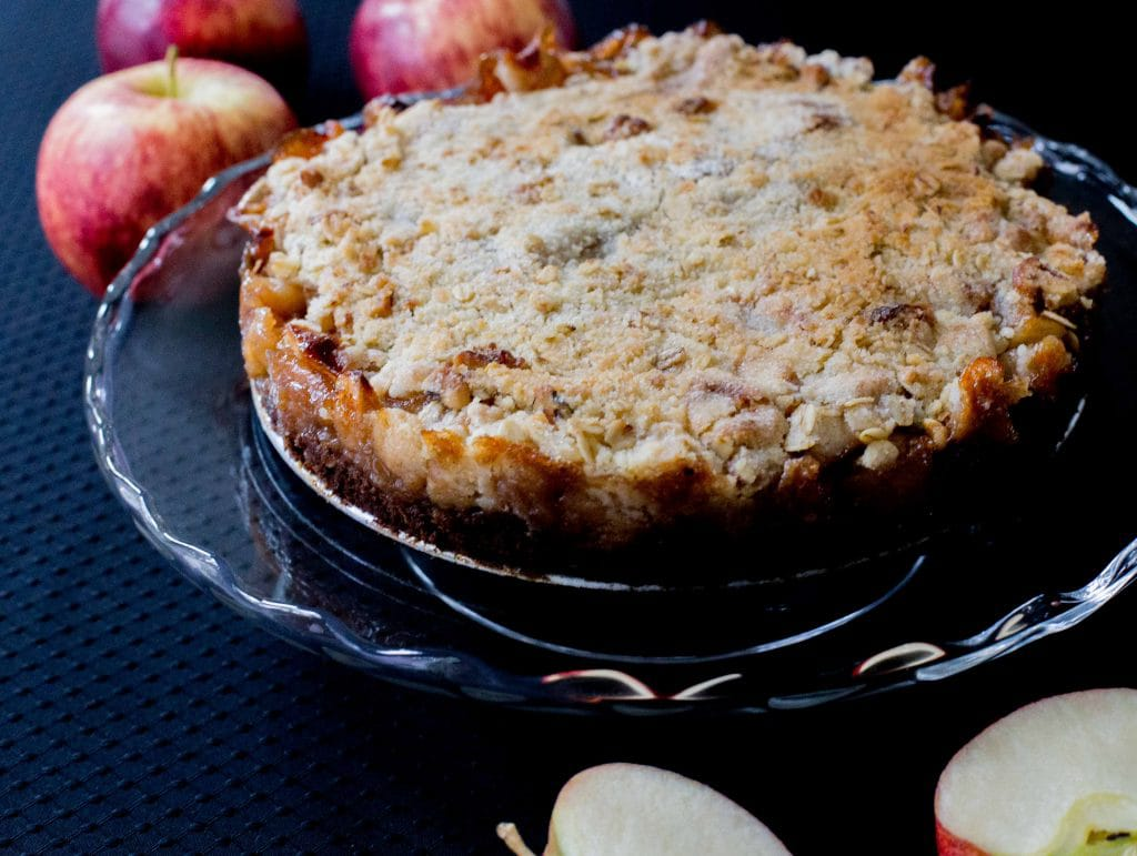 Apple Chocolate Kuchen
