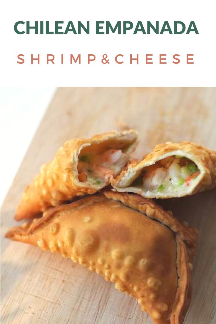 Chilean Shrimp & Cheese Empanada