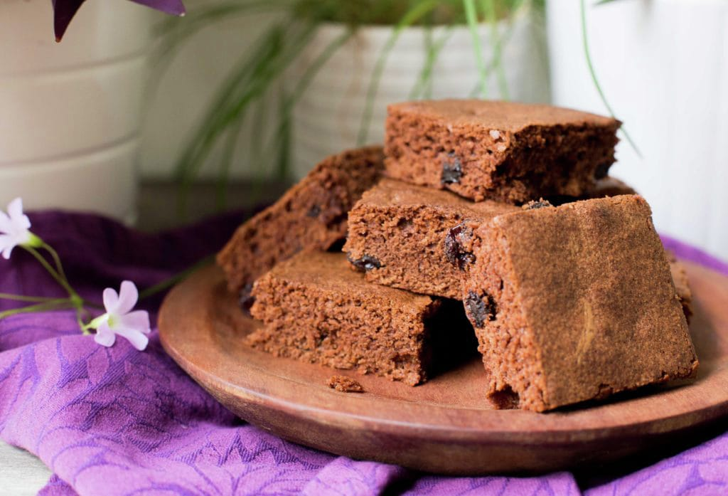 Easy Brownies with Cocoa Powder