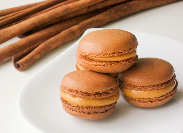 Lucuma Macarons