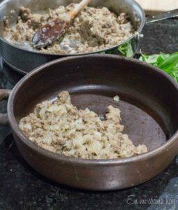Beef Pino on casserole