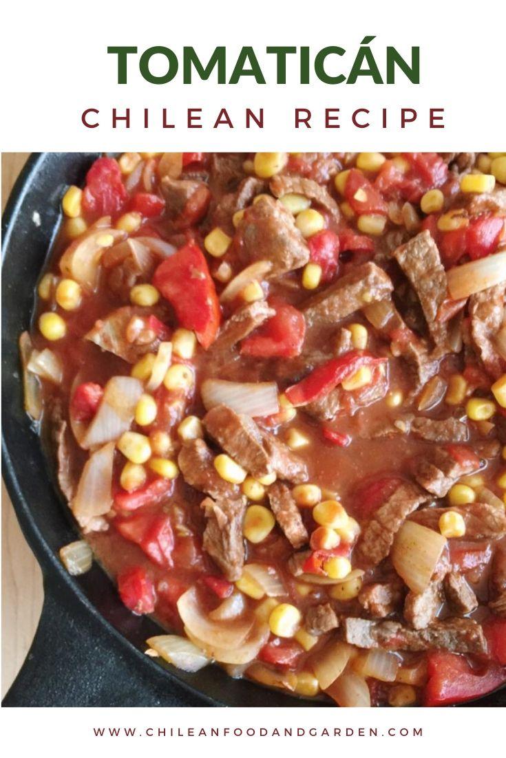 Tomaticán, Chilean Recipe