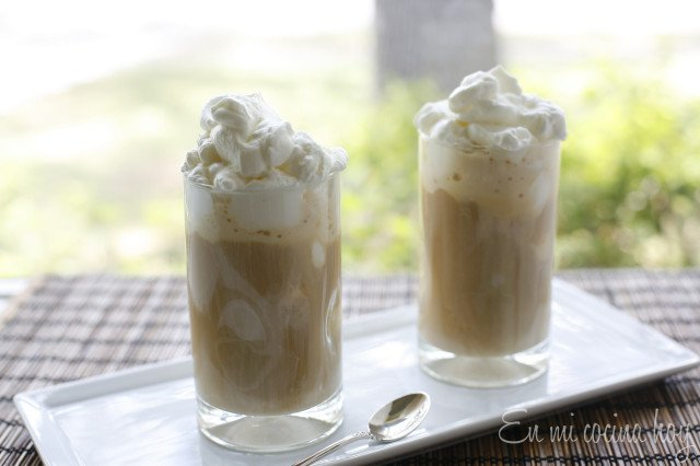 Homemade Iced Coffee, Chilean Style