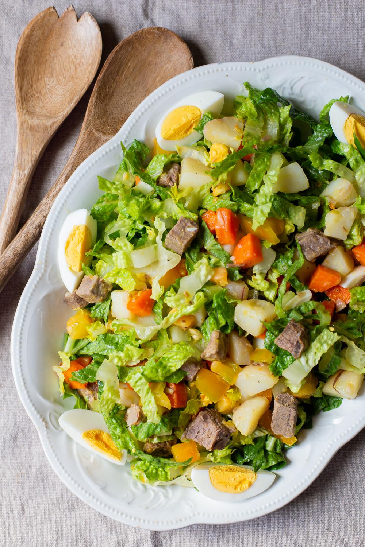 Chilean Salpicón salad