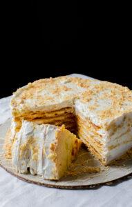 Banana Thousand Layer Cake