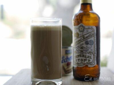 Stout with Condensed Milk, Chilean Drink