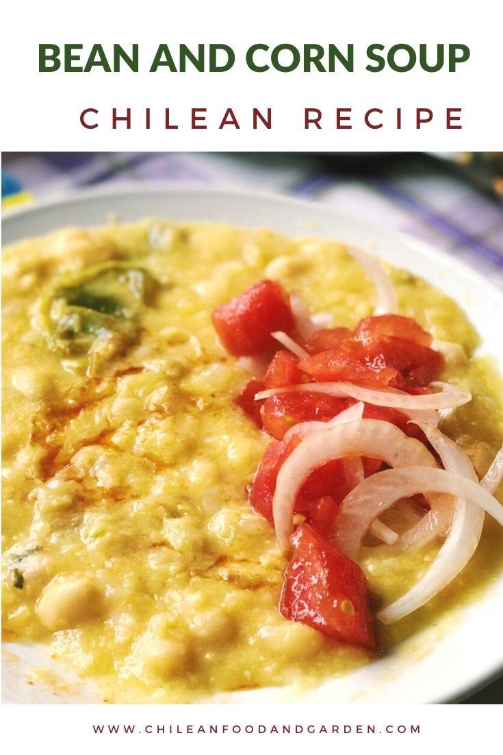 Summer Bean and Corn Soup Porotos con mazamorra