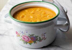 Summer Bean Soup Porotos con Mazamorra