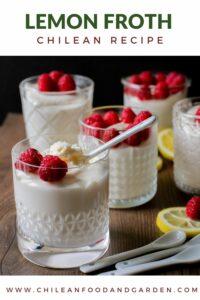 Lemon Froth Dessert
