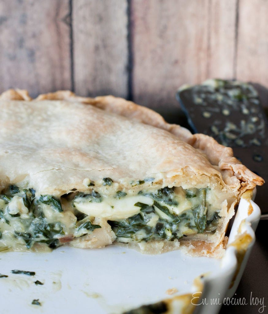Pascualina Swiss chard pot pie