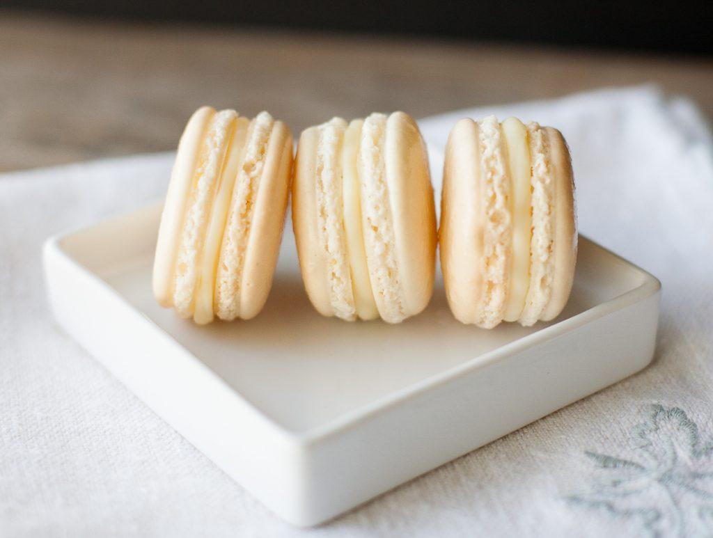 Meyer Lemon Macarons