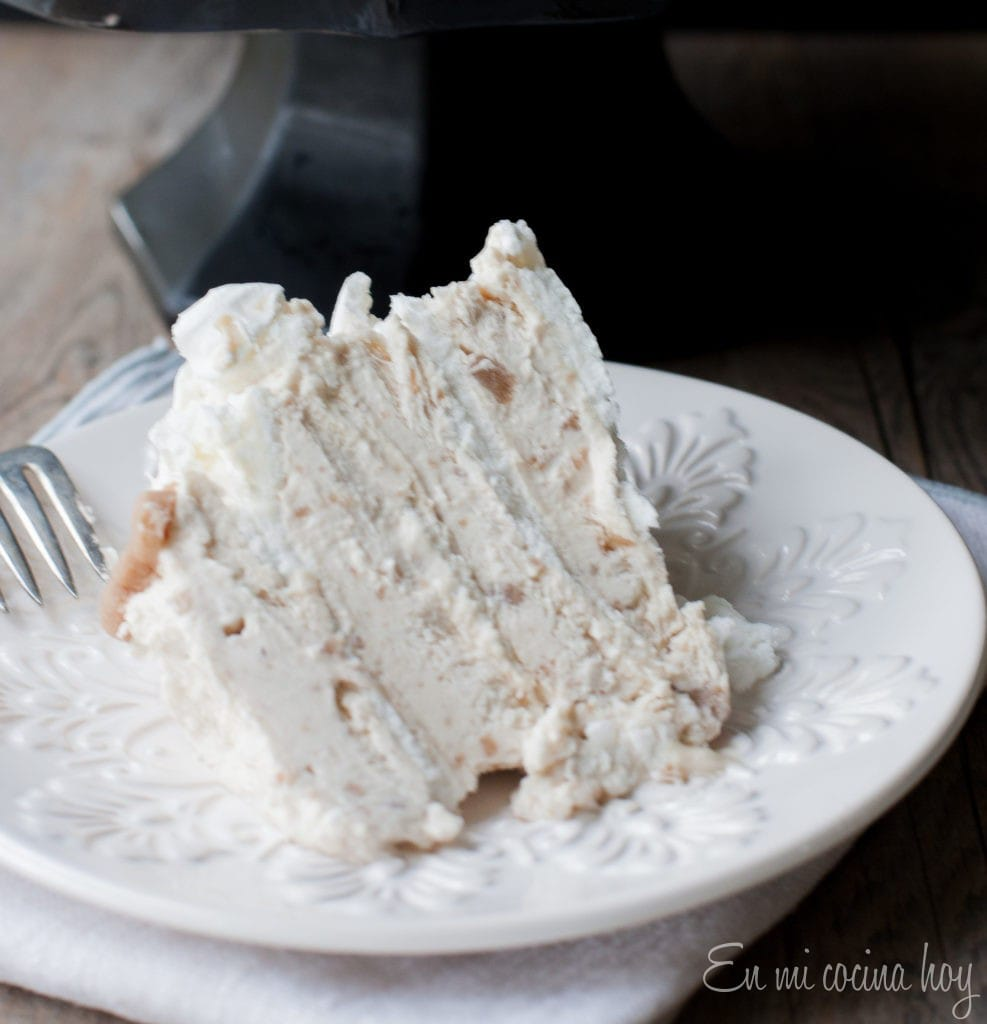 Chestnut Meringue Cake