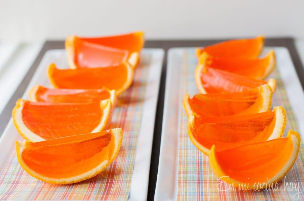 Gelatin Oranges