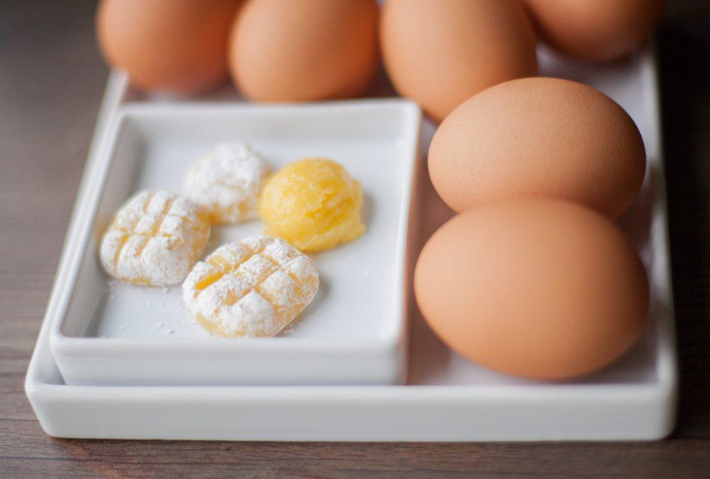 Egg Yolk Bonbons