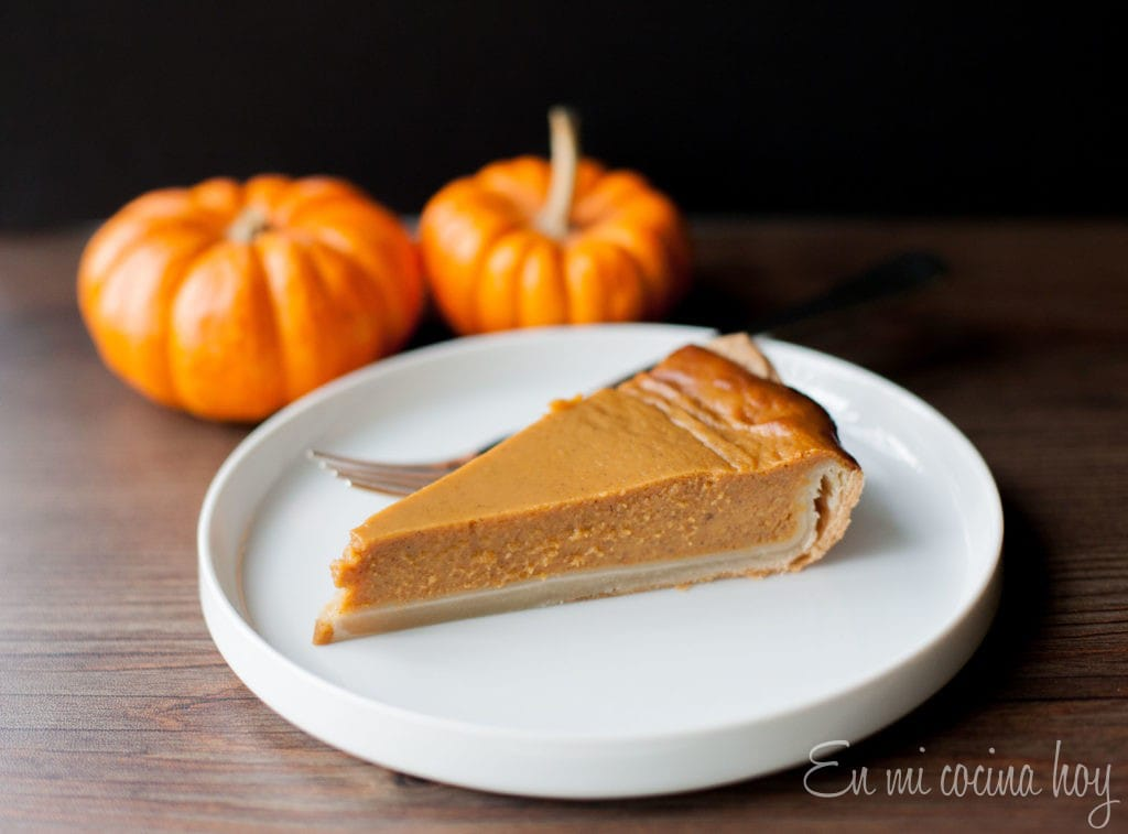 Pumpkin pie, traditional recipe