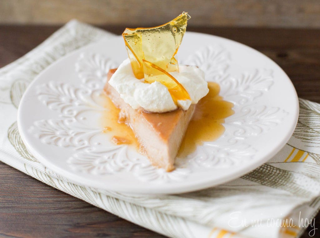 Lucuma Flan, Chilean Recipe