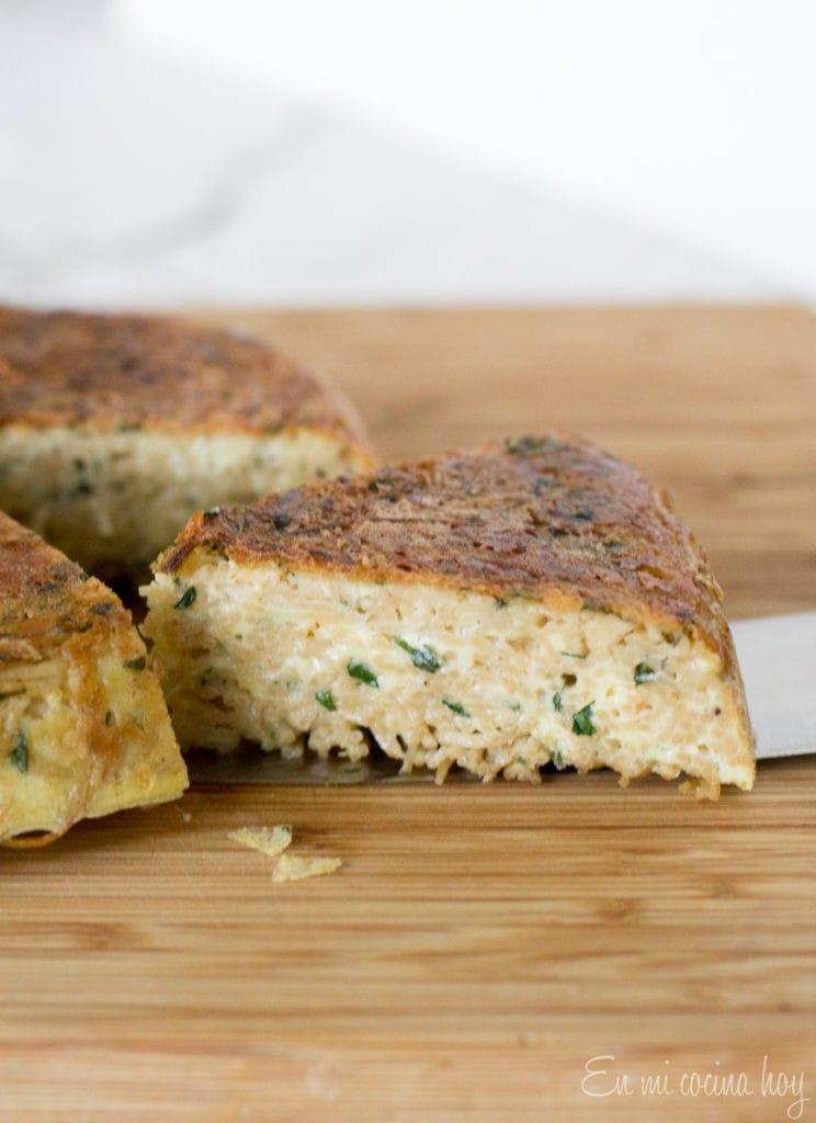 Noodle Frittata (Tortilla de Fideos)