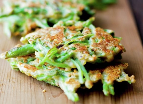 Green Beans Patties, Chilean Recipe