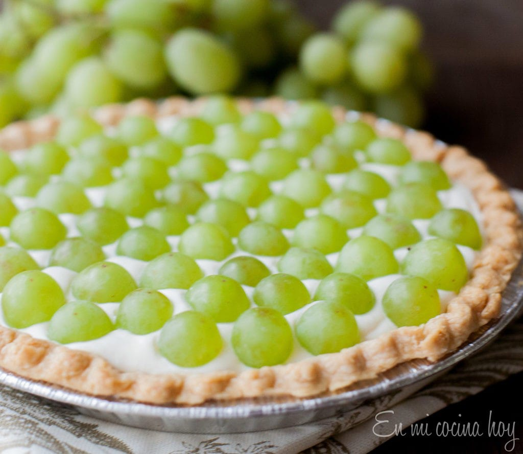 Easy White Grape Tart