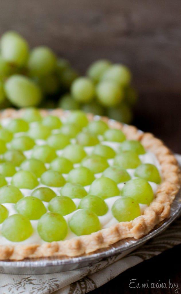 Easy White Grape Tart