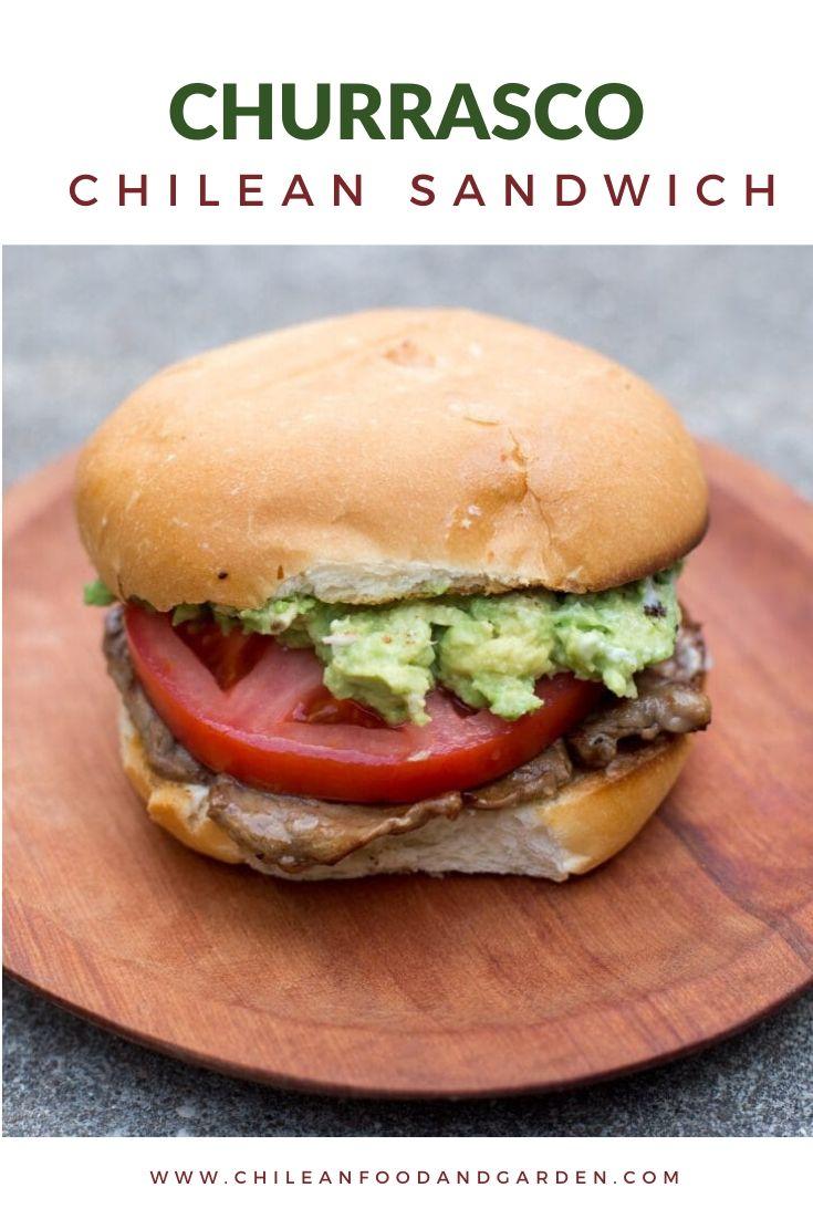 Churrasco Chilean Beef Sandwich