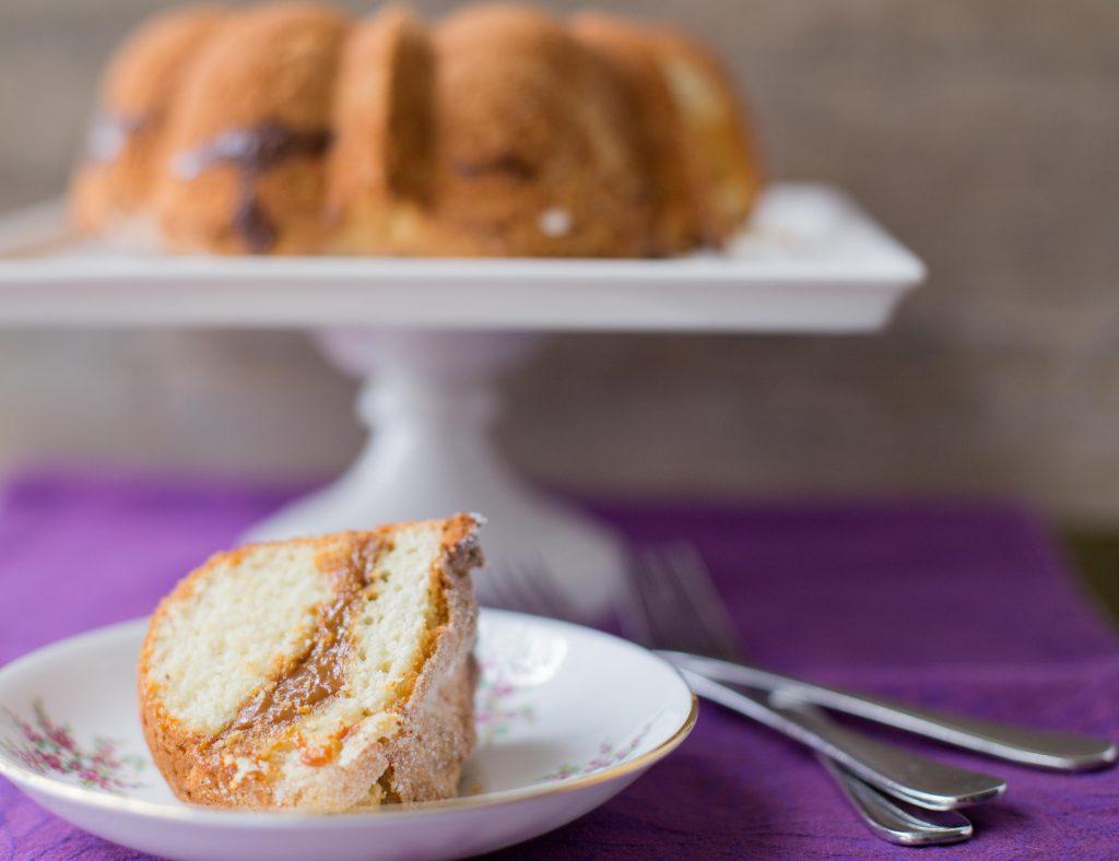 Dulce de Leche Nixtamasa Bundt Cake