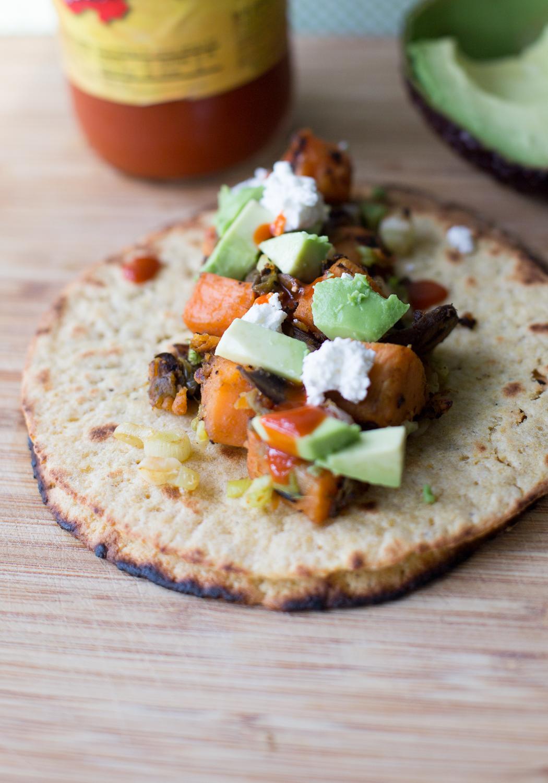 Veggie Sweet Potato Tacos