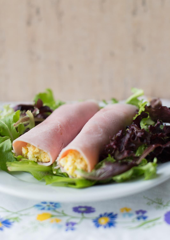 Ham rolls, Chilean Recipe