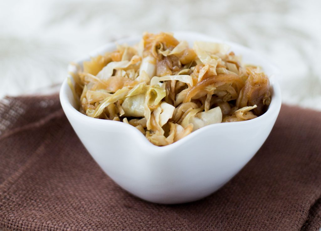 Cabbage with Apples