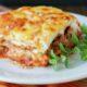 Lasagna with bechamel