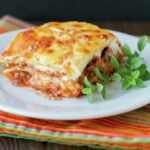 Lasagna with White Sauce and Bolognesa