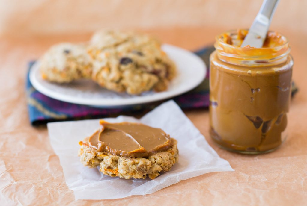 Carrot and Cereal Breakfast Cookies