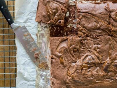 Brownies with Dulce de Leche
