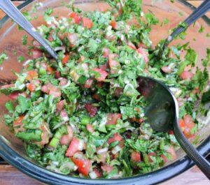 Pebre, salsa chilena