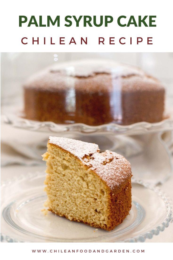 Palm Syrup Cake