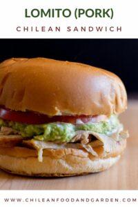 Chilean Lomito (Pork) Sandwich