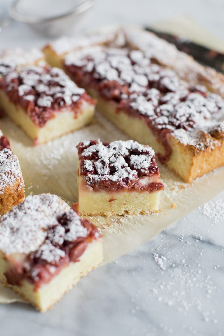 Easy Cherry Kuchen