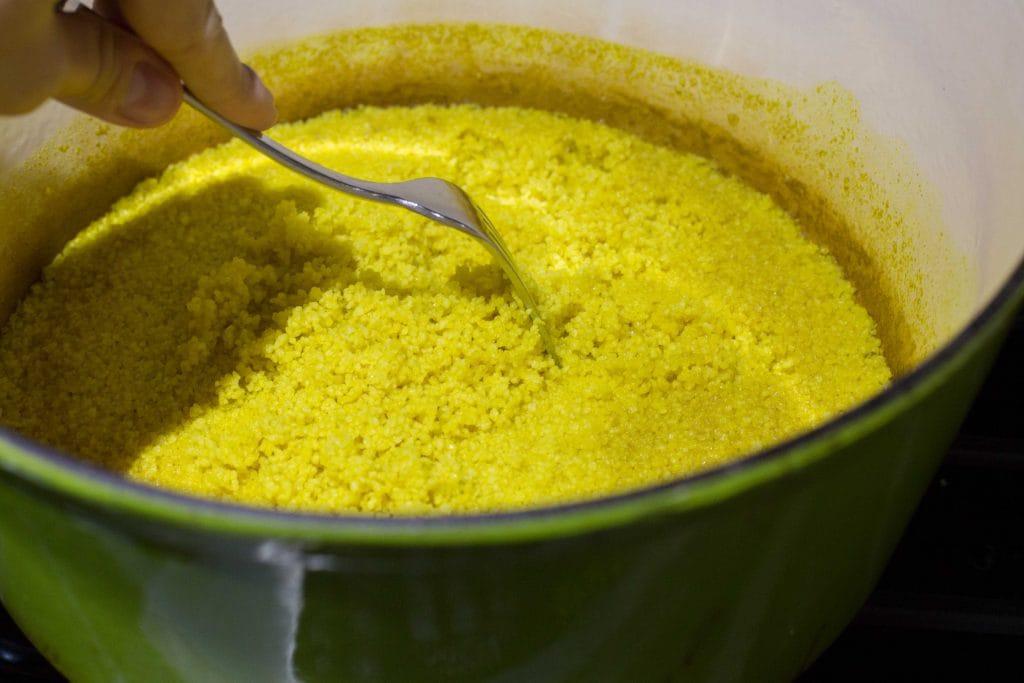 Ensalada de couscous y pasas