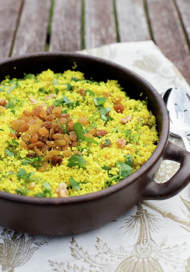 Raisin Couscous Salad