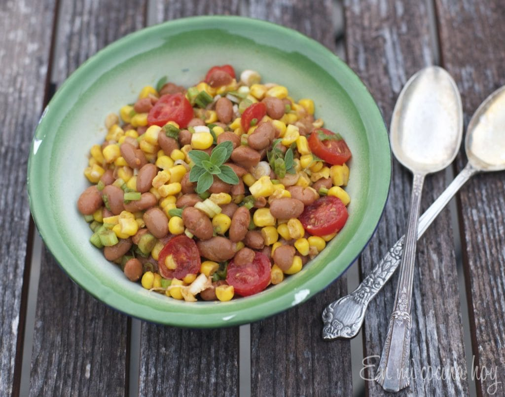 Spicy Pinto Beans Salad