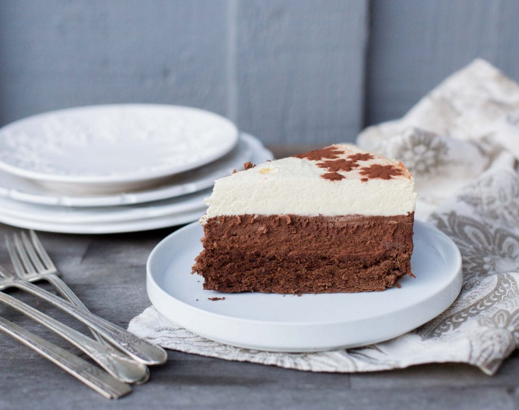 3 Layer Chocolate Mousse Cake