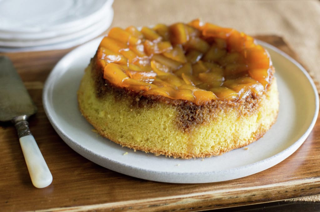 Chilean Carica Upside Down Cake