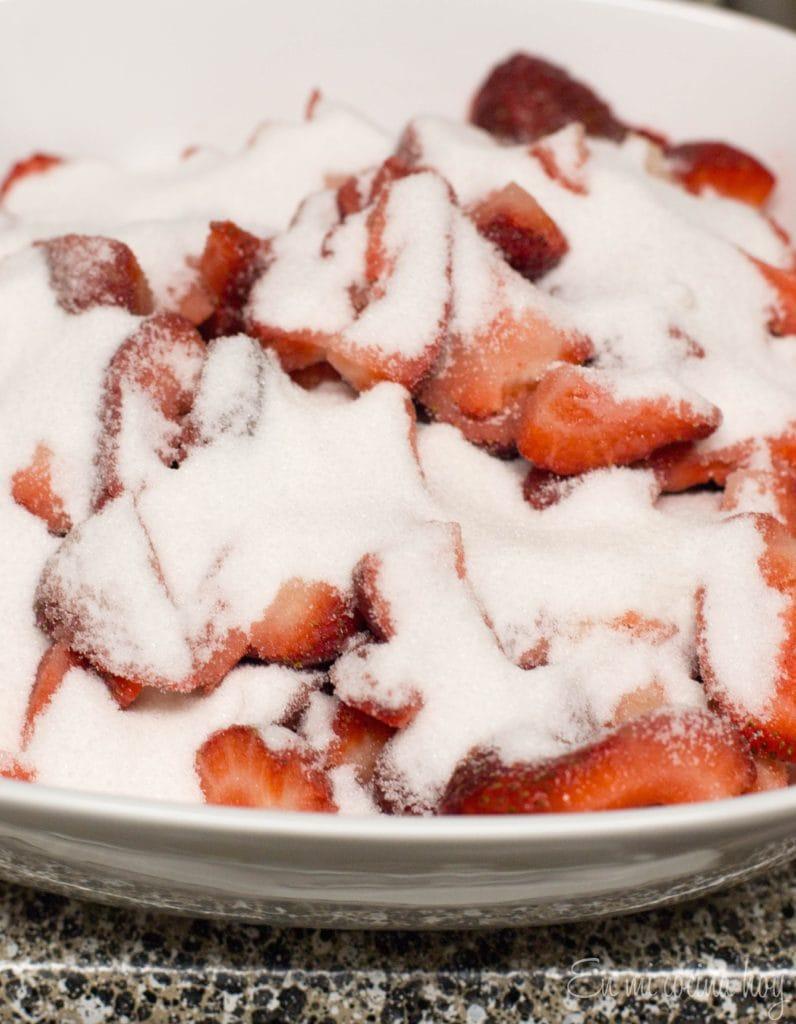 Paso a paso mermelada de frutillas
