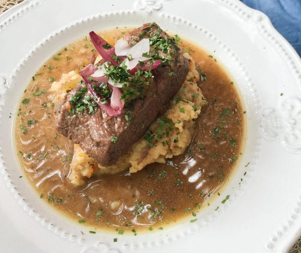 Plateada al horno, receta chilena
