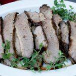 Chilean Plateada Oven-Roasted Beef Brisket