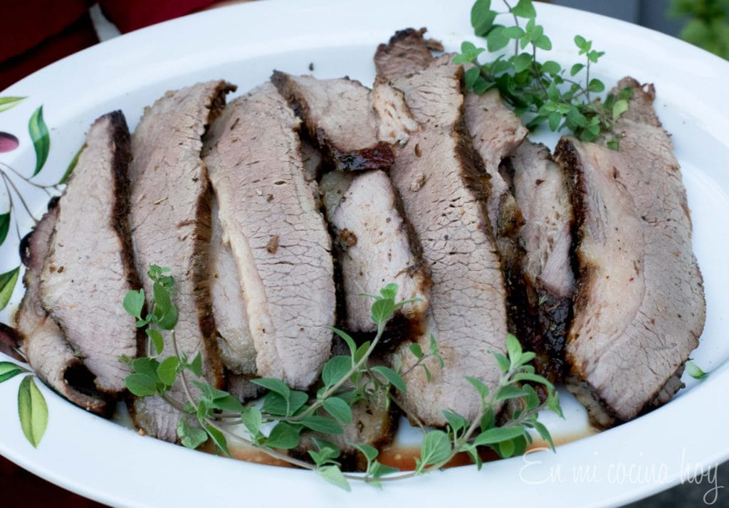 Oven-Roasted Beef Brisket, Chilean Plateada