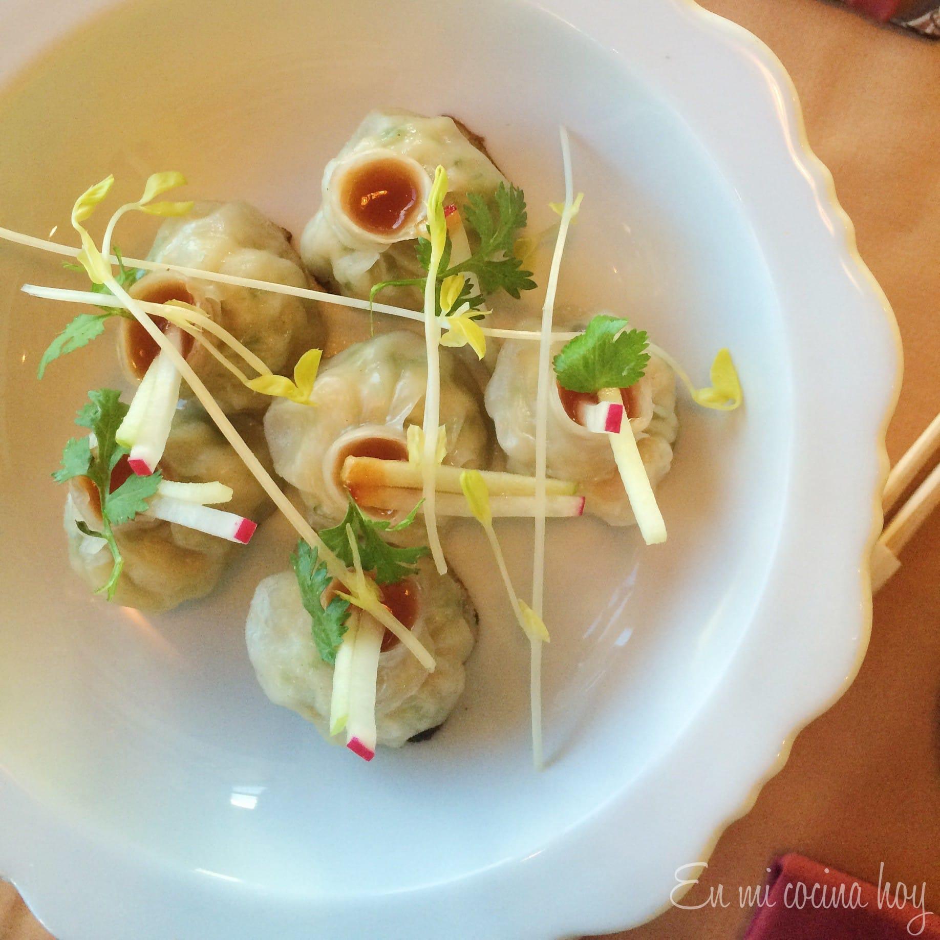 Gyosas de JiJi Asian Kitchen