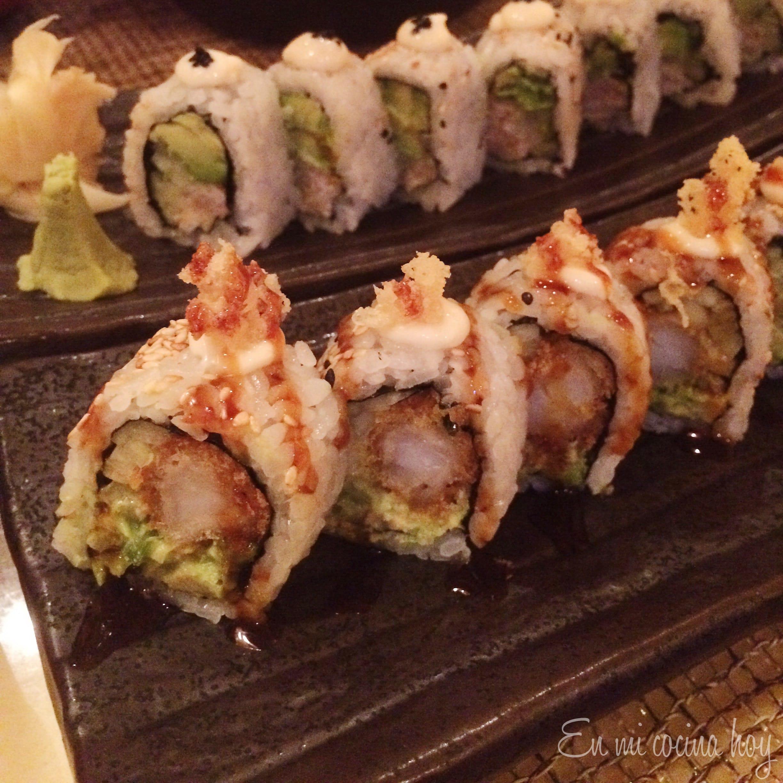 Sushi tempura de Bonsai Sushi