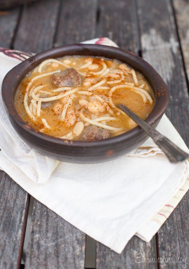 Chilean Winter Bean Soup