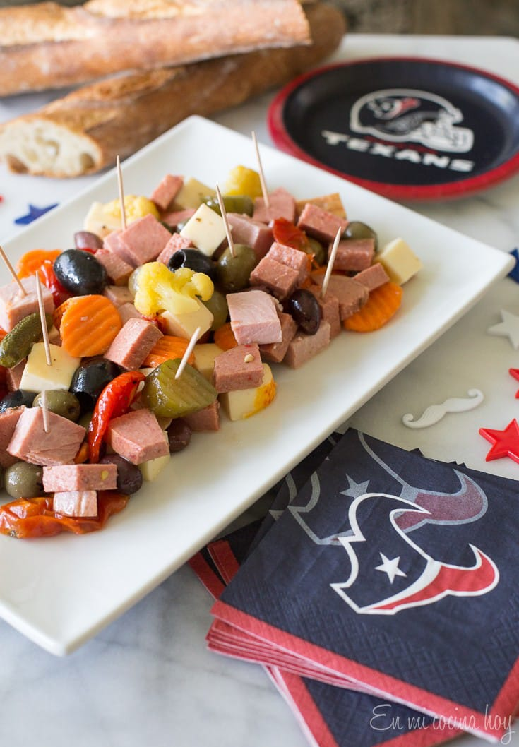 Try a new Latino game food for your next NFL game. A Chilean Pichanga. Easy and tasty #ad #FeeltheOrgullo